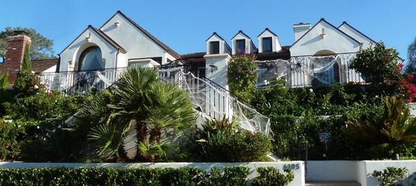 Quartier résidentiel de La Jolla San Diego