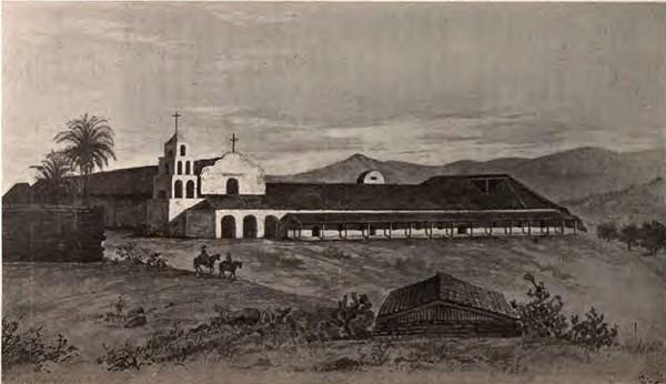 Mission San Diego en 1920
