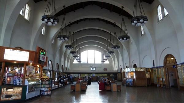 Intérieur de la gare Union Station San Diego