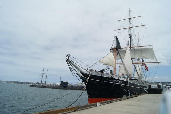 Star of India musée maritime San Diego
