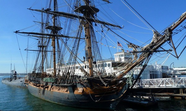 HMS Surprise musée maritime San Diego