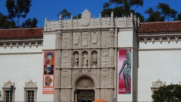The San Diego Museum of Art Balboa Park San Diego