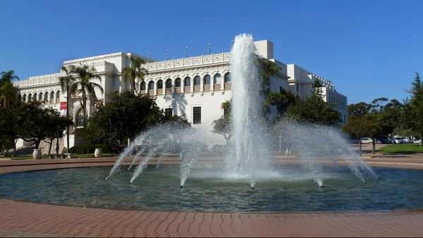 The San Diego National History Museum Balboa Park San Diego