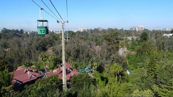 Skyfari zoo Balboa Park San Diego