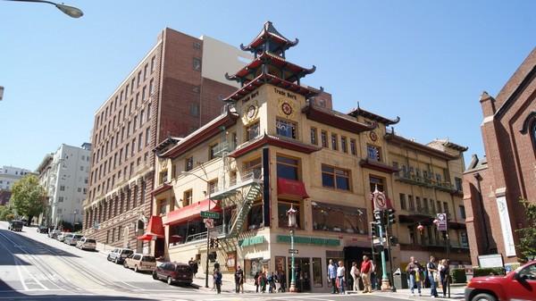 Grant Avenue / California Street Chinatown San Francisco