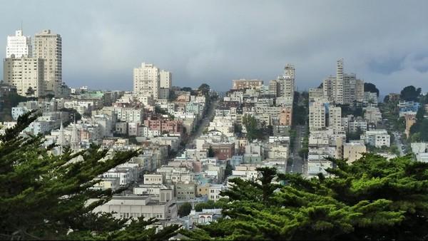 Vue depuis Telegraph Hill San Francisco