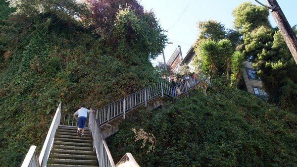 Filbert Steps San Francisco