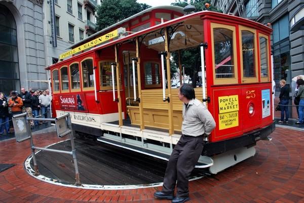 Cable Car Market Street San Francisco