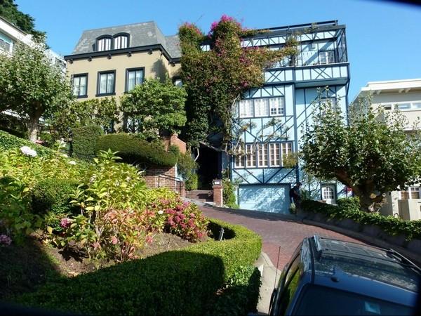 Sur Lombard Street San Francisco