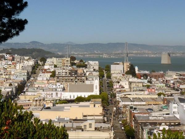 Vue depuis Lafayette Park San Francisco