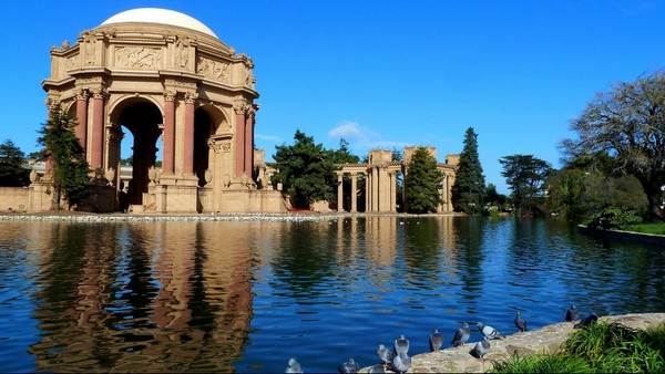 Palace of Fine Arts San Francisco