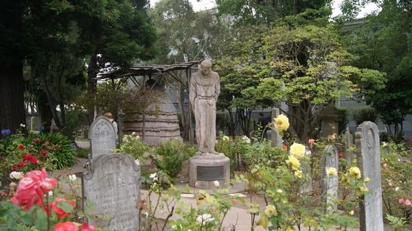 Cimetière et roseraie de la Mission Dolores San Francisco