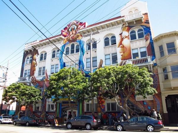 MaestraPeace Mural San Francisco