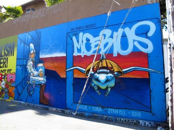 Fresque Moebius San Francisco