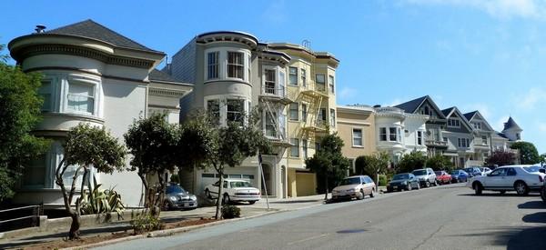 Sur les hauteurs de Haigh Ashbury San Francisco