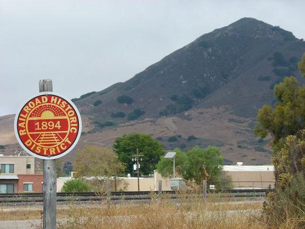 Railroad Historic District San Luis Obispo Californie