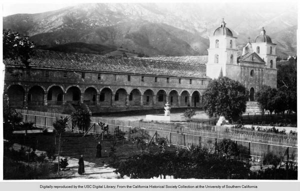 Mission Santa Barbara 1905