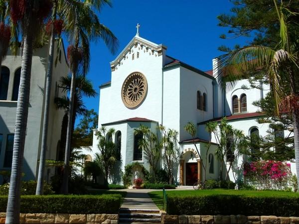 Our Lady of Sorrows Church Santa Barbara