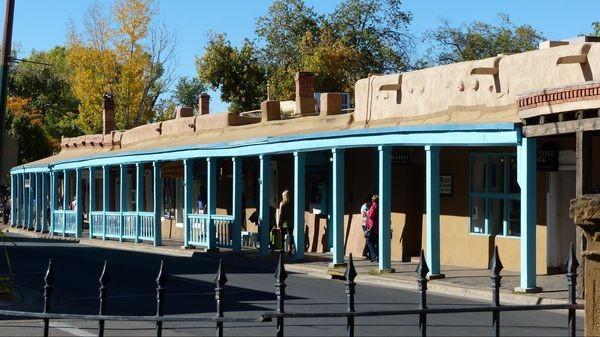 Santa Fe Plaza Santa Fe Nouveau-Mexique