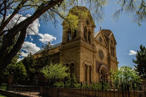 Cathédrale Basilique Saint François d'Assise Santa Fe Nouveau-Mexique