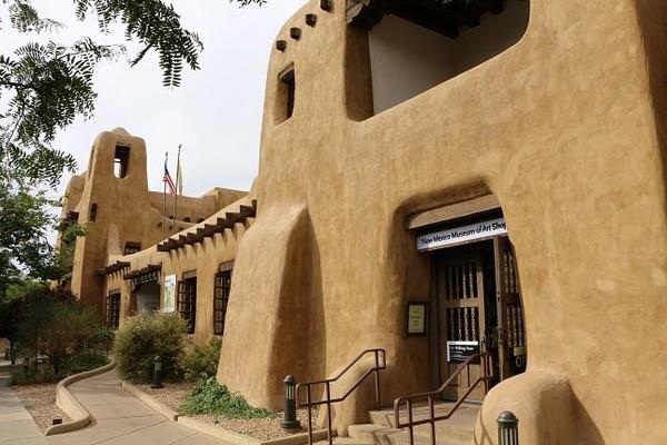 New Mexico Museum of Art Santa Fe Nouveau-Mexique