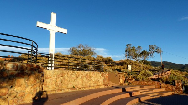 Cross of the Martyrs Historic Fort Marcy Park Santa Fe Nouveau-Mexique
