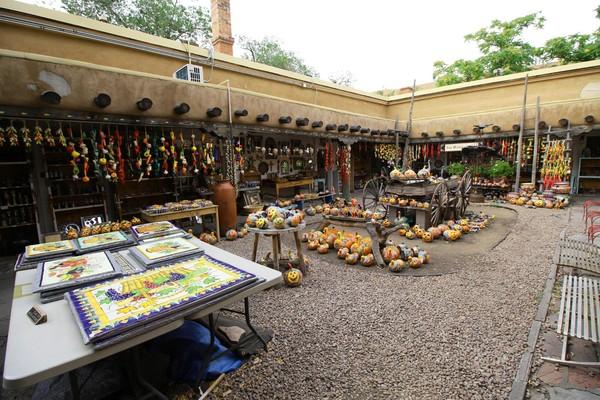 Échoppe souvenirs Santa Fe Village Santa Fe Nouveau-Mexique
