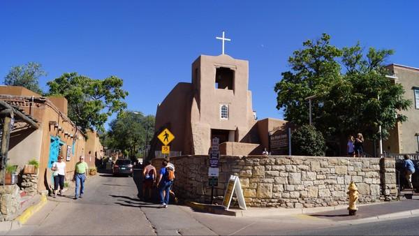 San Miguel Chapel Santa Fe Nouveau-Mexique