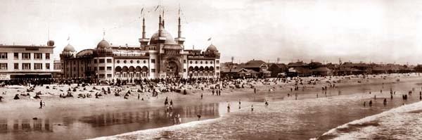 Santa Monica Beach 1908