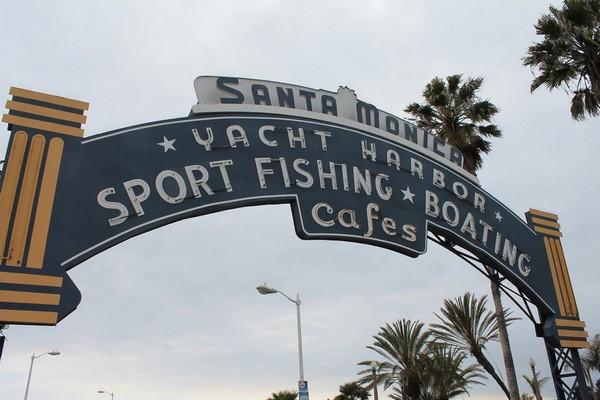 Entrée Santa Monica Pier