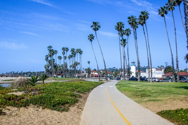Santa Monica Ocean Front Walk