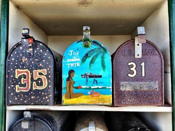 Boîtes aux lettres Sausalito