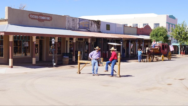 Ambiance Far West à Tombstone en Arizona