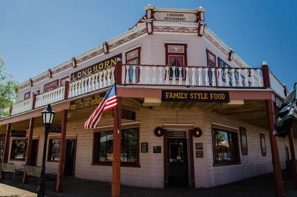 Longhorn Restaurant Tombstone Arizona