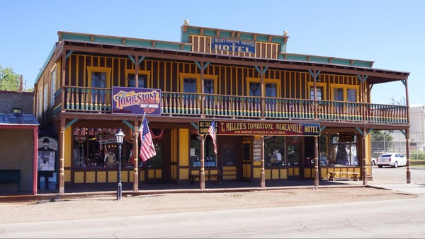 Tombstone Mercantile Hotel