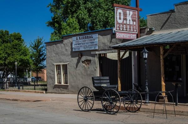 O.K Corral Historic Complex Tombstone Arizona