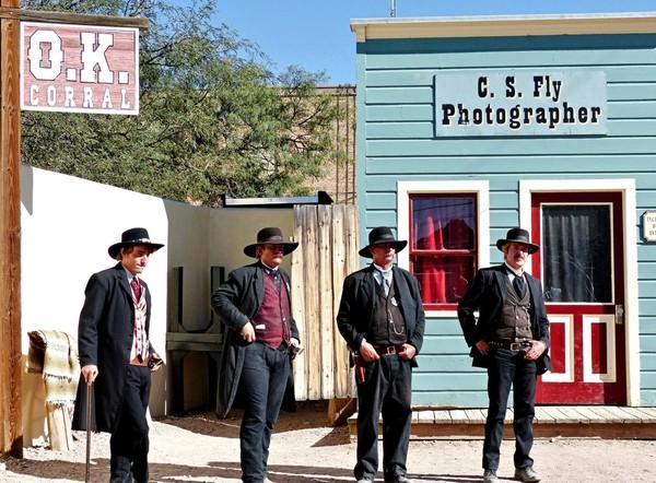 Acteurs O.K Corral Historic Complex Tombstone Arizona