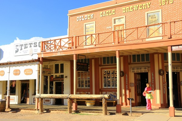 Crystal Palace Saloon Tombstone Arizona