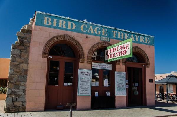 Bird Cage Theatre Tombstone Arizona