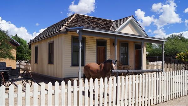 Wyatt Earp House Tombstone Arizona