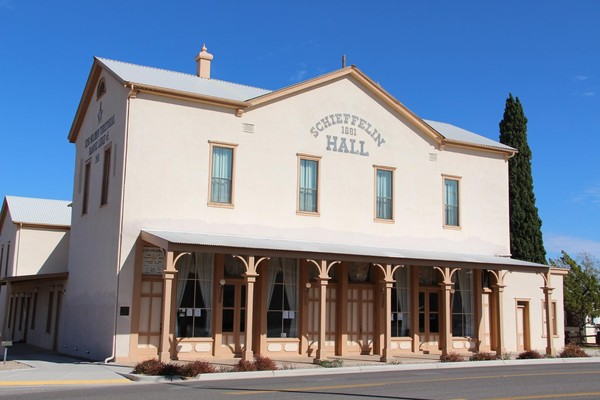 Schieffelin Hall Tombstone Arizona