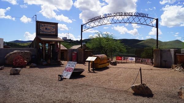 Good Enough Silver Mine Tombstone Arizona