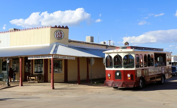 Trolley Tour Tombstone Western Town