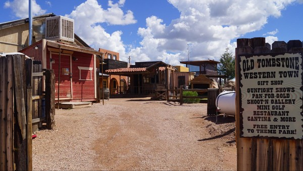 Tombstone Western Town