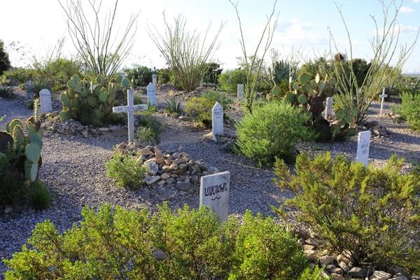 Cimetière de Tombstone en Arizona