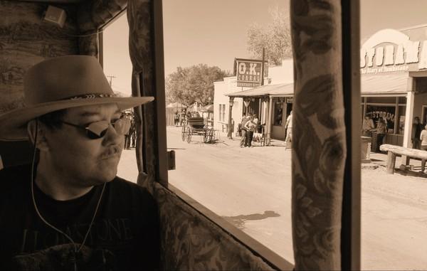 Promenades en diligence à Tombstone Arizona