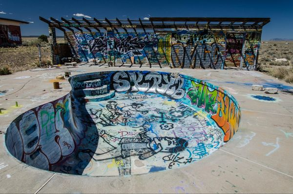 Piscine camping Two Guns Arizona