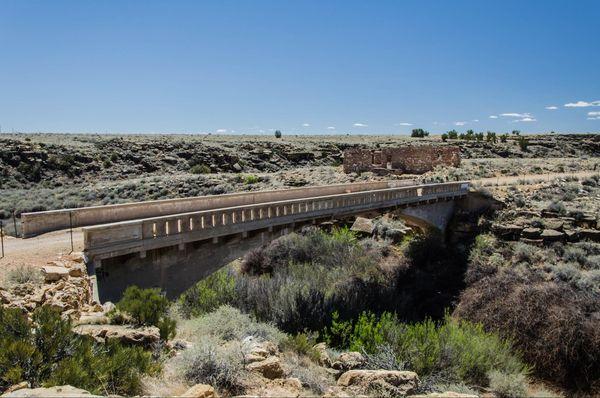 Canyon Diablo Bridge Two Guns Arizona