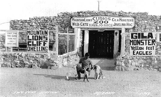 Harry Miller Two Guns Arizona