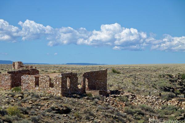 Ancien village de Two Guns Arizona